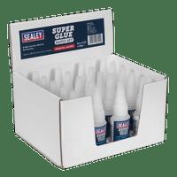 Sealey SCS304 Super Glue Rapid Set 20g Pack of 20