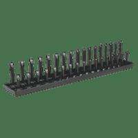 "Sealey SH1217 Socket Holder 1/2""Sq Drive 10-27mm"