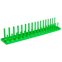 "Sealey SH1217HV Socket Holder 1/2""Sq Drive 10-27mm Hi-Vis Green"
