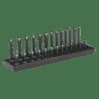 "Sealey SH1414 Socket Holder 1/4""Sq Drive 4-15mm"