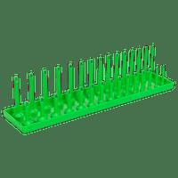 "Sealey SH3815HV Socket Holder 3/8""Sq Drive 6-21mm Hi-Vis Green"