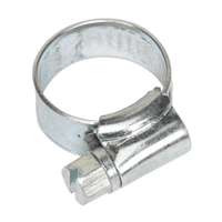 Sealey SHC000 Hose Clip Zinc Plated ??8-14mm Pack of 30