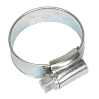 Sealey SHC1 Hose Clip Zinc Plated ??22-32mm Pack of 20