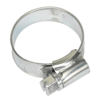 Sealey SHC1A Hose Clip Zinc Plated ??19-29mm Pack of 20