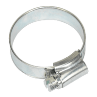 Sealey SHC1X Hose Clip Zinc Plated ??25-38mm Pack of 20