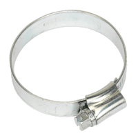 Sealey SHC2 Hose Clip Zinc Plated ??38-57mm Pack of 20