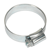 Sealey SHC245 Hose Clip Zinc Plated ??32-44mm Pack of 20