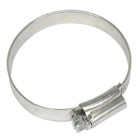 Sealey SHC2X Hose Clip Zinc Plated ??44-64mm Pack of 20
