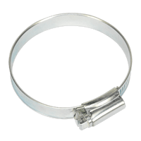 Sealey SHC3 Hose Clip Zinc Plated ??51-70mm Pack of 10