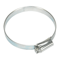 Sealey SHC3X Hose Clip Zinc Plated ??64-76mm Pack of 10