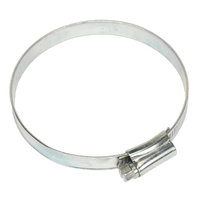 Sealey SHC4 Hose Clip Zinc Plated ??70-89mm Pack of 10