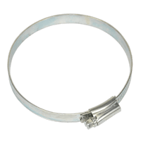 Sealey SHC4X Hose Clip Zinc Plated ??80-100mm Pack of 10