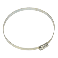 Sealey SHC7 Hose Clip Zinc Plated ??140-160mm Pack of 10