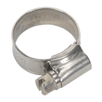 Sealey SHCSS00 Hose Clip Stainless Steel ??12-22mm Pack of 10
