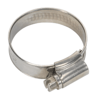 Sealey SHCSS1A Hose Clip Stainless Steel ??25-38mm Pack of 10