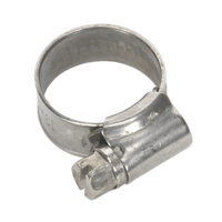 Sealey SHCSSM00 Hose Clip Stainless Steel 13-19mm Pack of 10