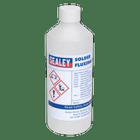 Sealey SOLFLUX Solder Fluxing Fluid 500ml Bottle
