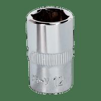 Sealey SP3813D 13mm Deep 3//8Sq Drive Fully Polished WallDrive/® Socket