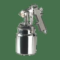Sealey SSG401 Spray Gun Suction Feed 1.5mm Set-Up