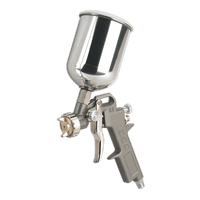Sealey SSG501 Spray Gun Gravity Feed 2.2mm Set-Up