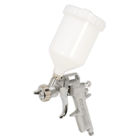 Sealey SSG502 Spray Gun Gravity Feed 1.8mm Set Up