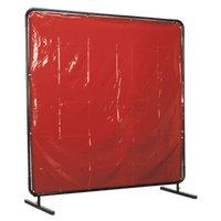 Sealey SSP992 Workshop Welding Curtain to BS EN 1598 & Frame 1.8 x 1.75m