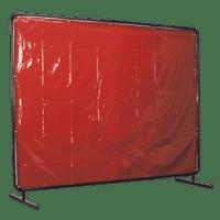 Sealey SSP993 Workshop Welding Curtain to BS EN 1598 & Frame 2.4 x 1.75m