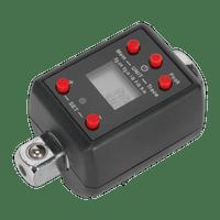 "Sealey STW290 Torque Adaptor Digital 1/2""Sq Drive 40-200Nm(29.5-147.5lb.ft)"