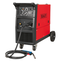 Sealey SUPERMIG255 Professional MIG Welder 250Amp 230V with Binzel?? Euro Torch