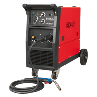Sealey SUPERMIG275 Professional MIG Welder 270Amp 230V with Binzel?? Euro Torch