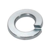 Sealey SWM5 Spring Washer M5 Zinc DIN 127B Pack of 100