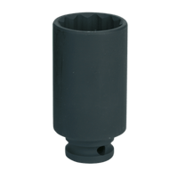"Sealey SX0041 Impact Socket 33mm Bi-Hex Deep 1/2""Sq Drive"
