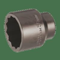"""Sealey SX014 Impact Socket 50mm Bi-Hex 3/4""""Sq Drive"""