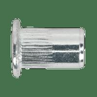 Sealey TISM5 Threaded Insert (Rivet Nut) M5 Splined Pack of 50
