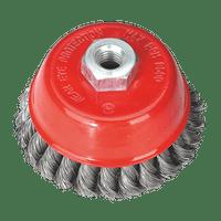 Sealey TKCB100 Twist Knot Wire Cup Brush ??100mm M14 x 2mm