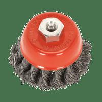 Sealey TKCB651 Twist Knot Wire Cup Brush ??65mm M14 x 2mm