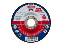 Faithfull FAI1153MDC Depressed Centre Metal Cutting Disc 115 x 3.2 x 22.23mm