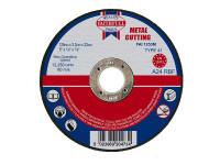 Faithfull FAI1253M Metal Cut Off Disc 125 x 3.2 x 22.23mm