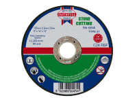 Faithfull FAI1253S Stone Cut Off Disc 125 x 3.2 x 22.23mm