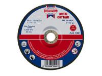 Faithfull FAI1803MDC Depressed Centre Metal Cutting Disc 180 x 3.2 x 22.23mm
