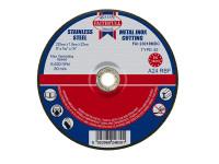 Faithfull FAI23018MDC Depressed Centre Stainless Steel Cutting Disc 230 x 1.8 x 22.23mm