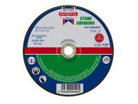 Faithfull FAI2306SDG Depressed Centre Stone Grinding Disc 230 x 6 x 22.23mm