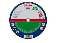 Faithfull FAI3003522S Stone Cut Off Disc 300 x 3.5 x 22.23mm
