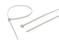 Faithfull FAICT1200WHD Heavy-Duty Cable Ties White 9.0 x 1200mm (Pack 10)
