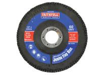 Faithfull FAIFD127M Flap Disc 127mm Medium
