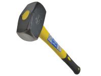 Faithfull FAIFG4LH Club Hammer Long Shaft Fibreglass Handle 1.81kg (4lb)
