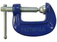 Faithfull FAIHC1 Hobbyists Clamp 25mm (1in)