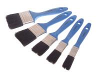 Faithfull FAIPBUSET5 Utility Paint Brush Set of 5 19 25 38 50 & 75mm