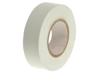 Faithfull FAITAPEPVCW PVC Electrical Tape White 19mm x 20m