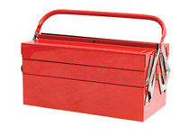 Faithfull FAITBC519 Metal Cantilever Toolbox - 5 Tray 49cm (19in)